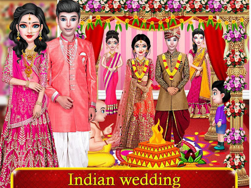 Indian Royal Wedding Rituals and Beauty Salon 1.2.1 screenshots 1