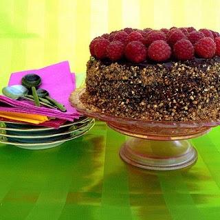 CHOCOLATE - RASPBERRY CAKE