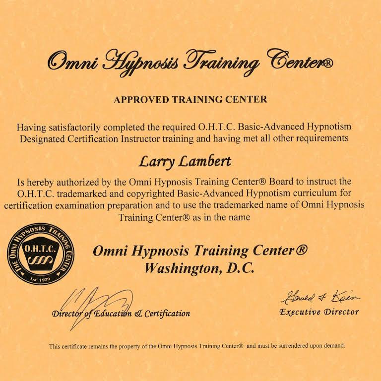 Omni Hypnosis Training Center of Washington, DC - Training