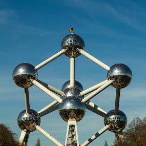 Atomium, Brussel by Alexandru Lupulescu - Uncategorized All Uncategorized ( atomium, belgium, brussel, structure )