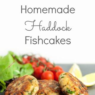 Homemade Haddock Fishcakes.