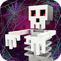 Scary Theme Park Craft: Spooky Horror Zombie Games icon