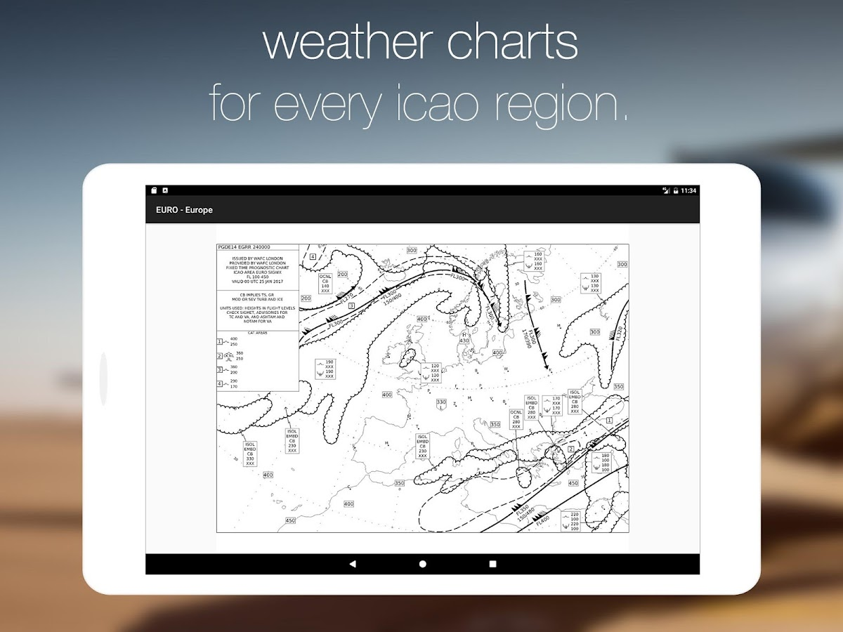 StationWeather Lite - Aviation Weather and Charts- screenshot