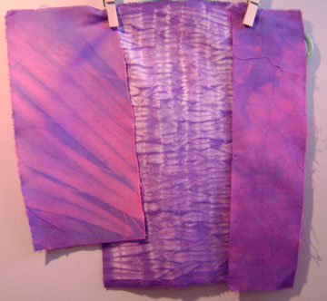 more overdyed fabric