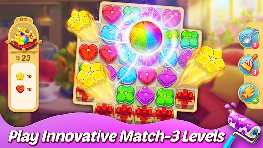 Matchington Mansion (MOD, Unlimited Coins) APK for Android 5