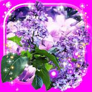 Lilac Tender Live wallpaper