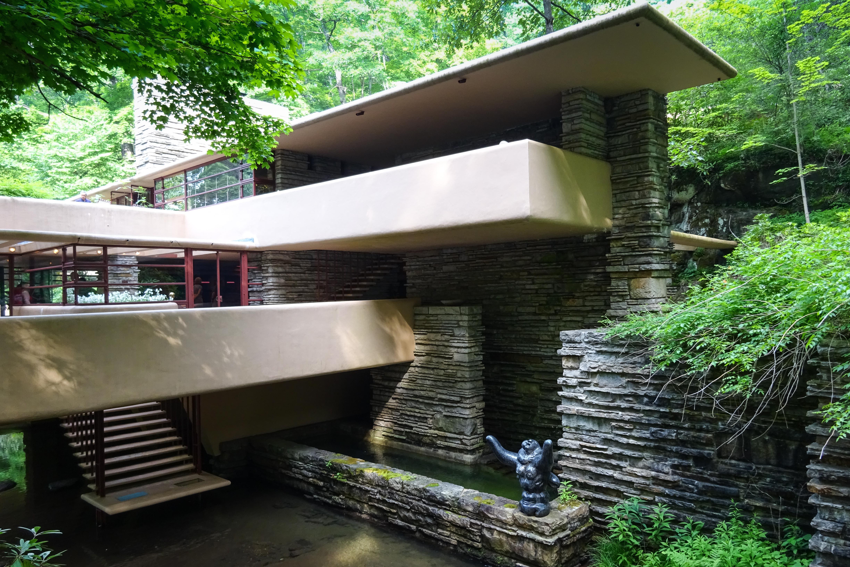 Album google - La maison sur la cascade frank lloyd wright ...