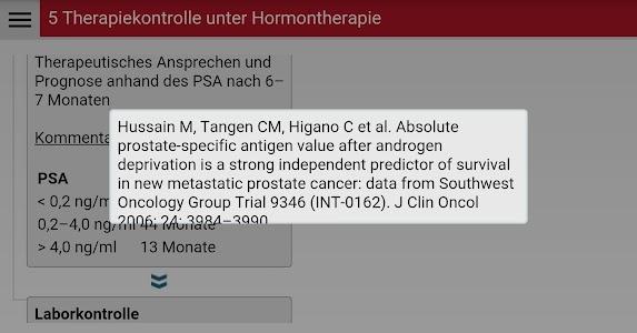 Prostatafibel screenshot 3