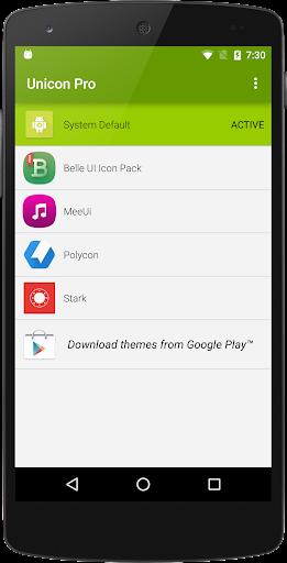 Unicon – Icon Themer Pro Key poster