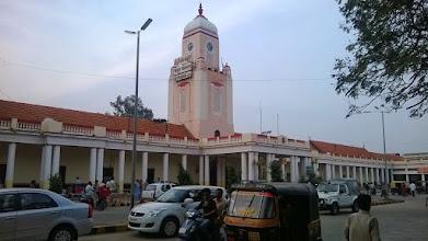 Photo: Mysore - central train station