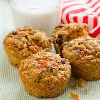 Carrot Oatmeal Muffins.