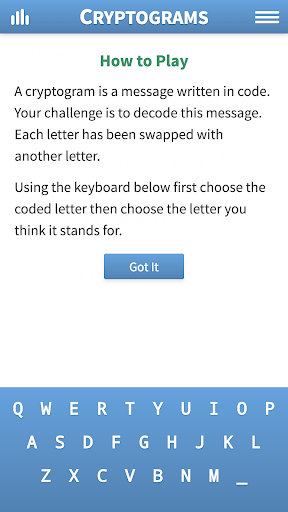 Cryptogram Puzzles 1.62 screenshots 5