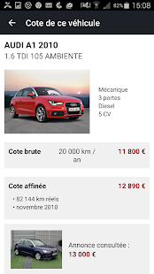 La Centrale voiture occasion- screenshot thumbnail
