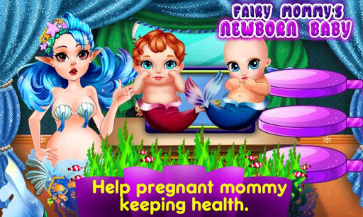 Fairy Mommy's Newborn Baby