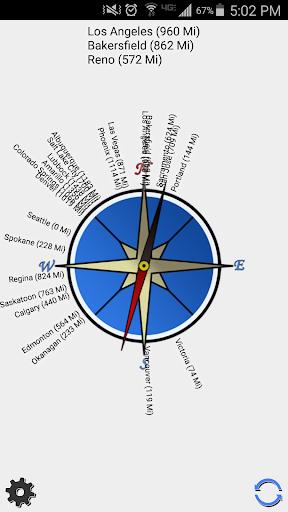 CityCompass: Cities around you