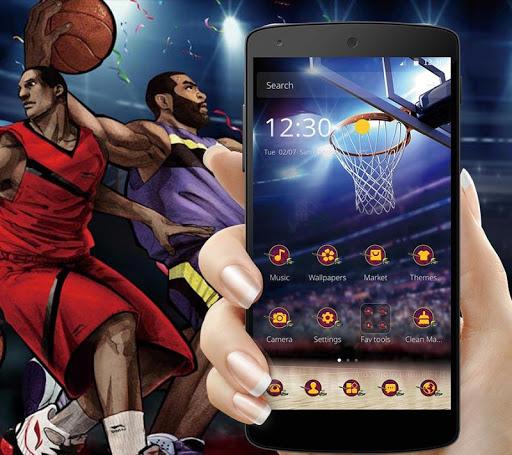 Cleveland Basketball Launcher Theme 1.1.2 screenshots 1