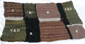 blanket with names indicated