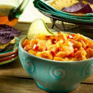 Creamy Spicy Mango Salsa.