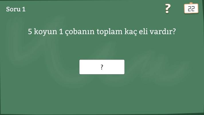 Aptallık Testi - screenshot