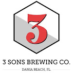 Logo for 3 Sons Brewing Co.