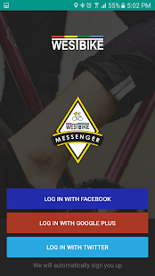 Westbike Messenger- gambar mini screenshot