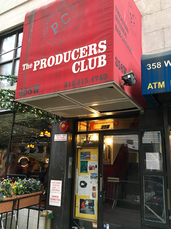 The Producers Club stands at what used to be The Improv.