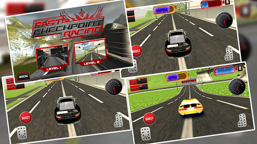 Fast Checkpoint Racing