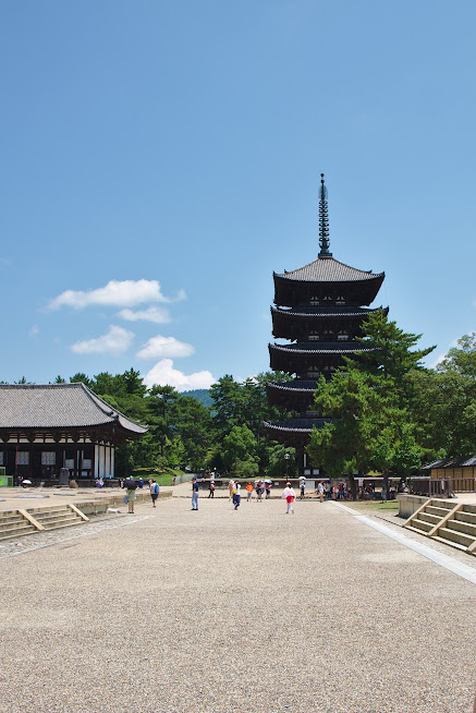 Pagoda w Narze