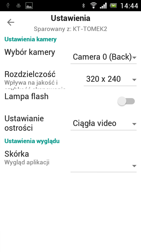 KT Skaner Kodów- screenshot