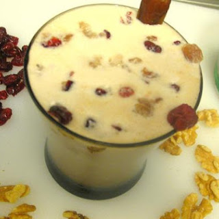 Fruit and Nut Cocoa Milk