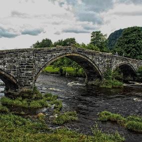 Historicky brige by Ferdinand Debnárik - Buildings & Architecture Bridges & Suspended Structures