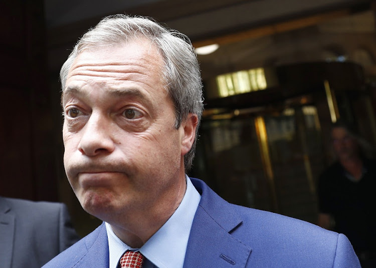 Nigel Farage. Picture: REUTERS