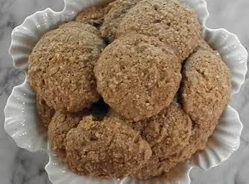 Sort of Healthy Oatmeal Cookies