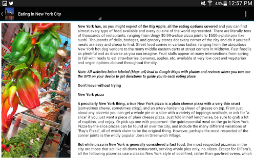 New York City Travel Guide- screenshot thumbnail