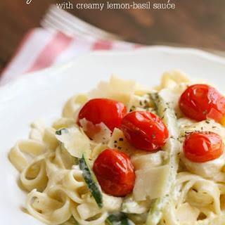 Zucchini Ribbons and Pasta