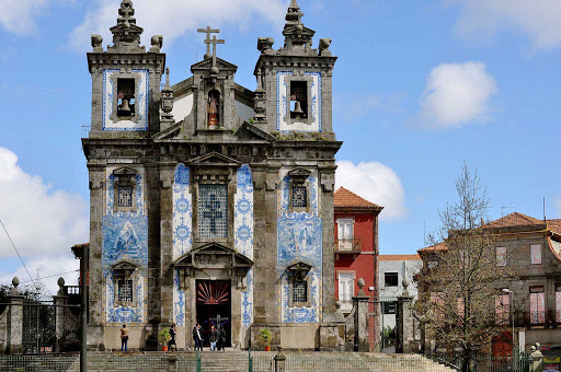 Portugal-Porto-church - The Igreja de Santo Ildefonso is an 18th-century church in Porto, Portugal, near Batalha Square.