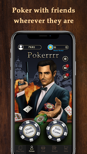 Pokerrrr2: Poker with Buddies - Multiplayer Poker  captures d'écran 1