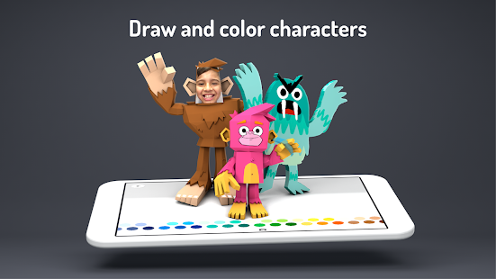 3d cartoon drawing board toontastic 3d android apps on google play