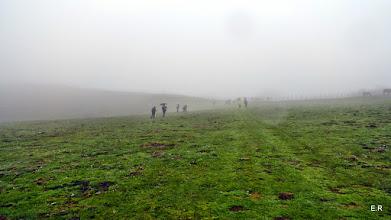 Photo: Niebla, agua,  viento, ya nos queda poco