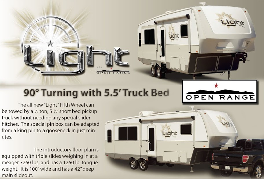 Open Range LIGHT, light weight 5th wheel at Lerch RV