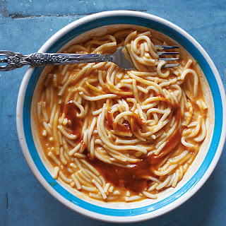 Sopa de Fideo (Mexican Noodle Soup).