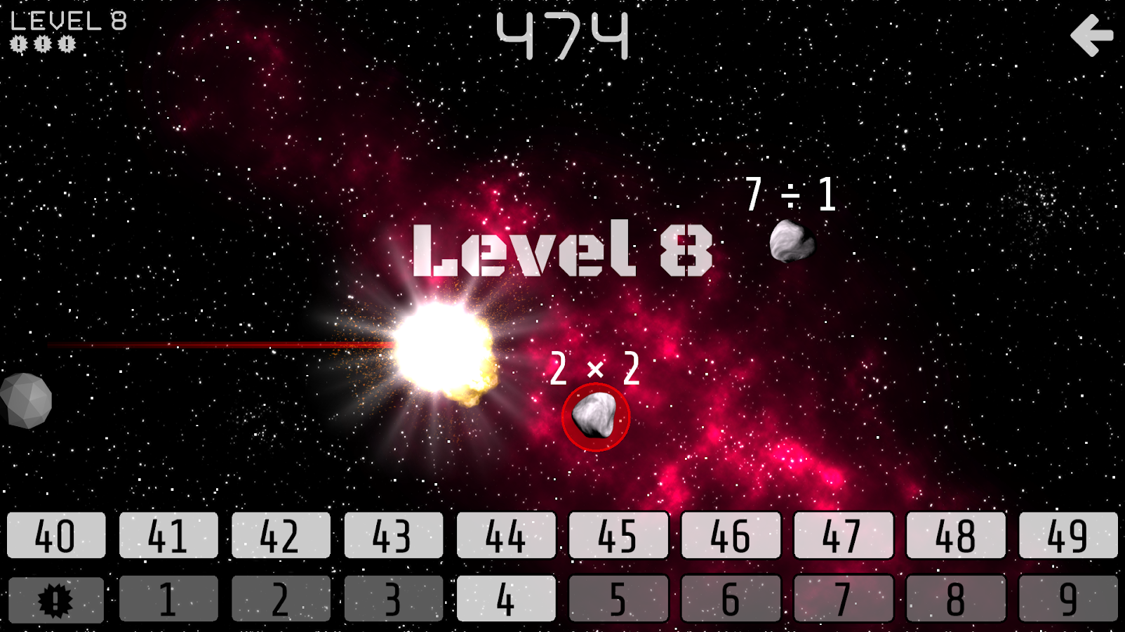 Math Attacks- screenshot