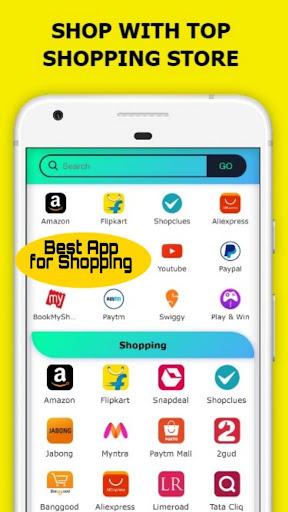 All In One Social Media,News,Sports,Shopping App 15.0.0 screenshots 2