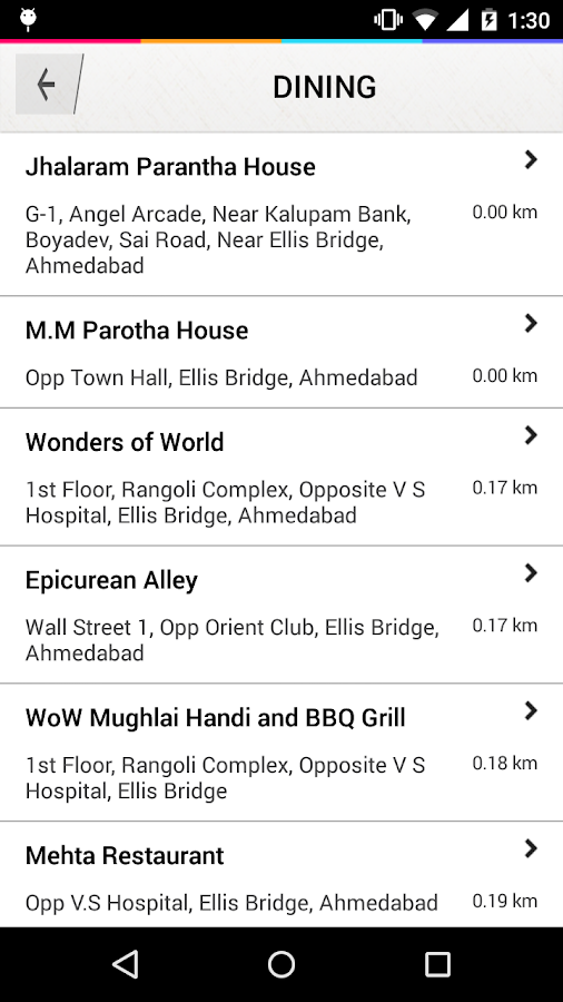 MyCityWay - India- screenshot