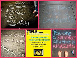 Photo: Washington, DC Chalk Walk ad