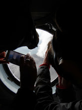 Photo: облепив иллюминаторы, все таращились на Карымский вулкан