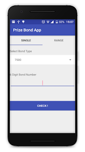 PrizeBond Screenshot