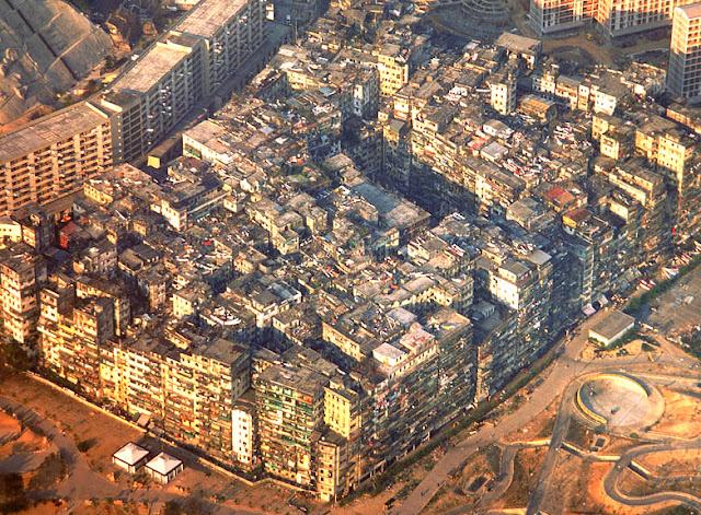 Крепость Коулун Коулунская крепость Kowloon Walled City Гибсон Идору