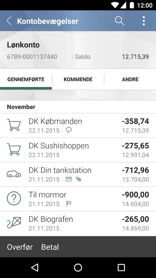 Djurslands Banks MobilBank – Android-apps på Google Play