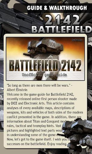 Battlefail 2142 Game Guide